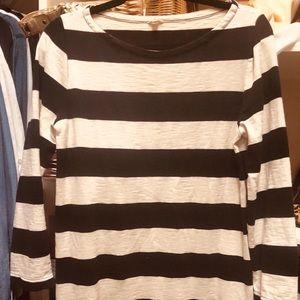 J.Crew, striped tunic size M